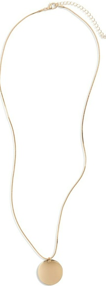 Nordstrom Jewelry - Nordstrom Circle Pendant Necklace. New!!